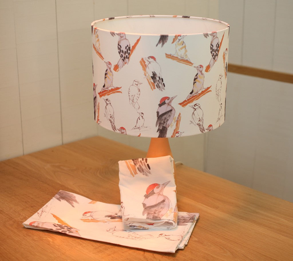 Woodpecker Lampshade