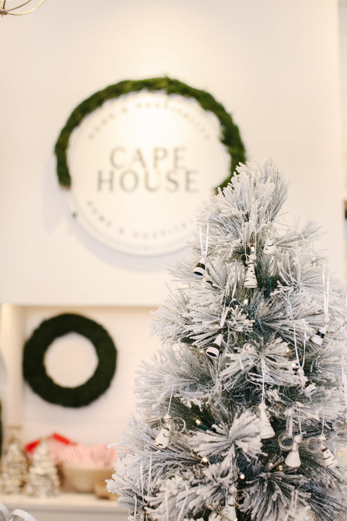 Cape House Gives Back: Three Angels Christmas Ornaments