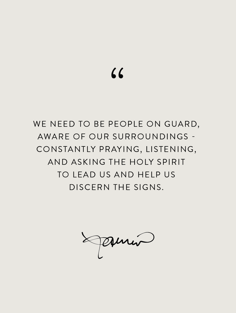 Wednesday Wisdom: Be on Guard