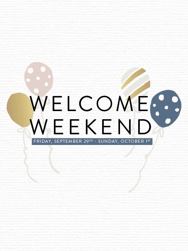 You're Invited! Cape House Welcome Weekend