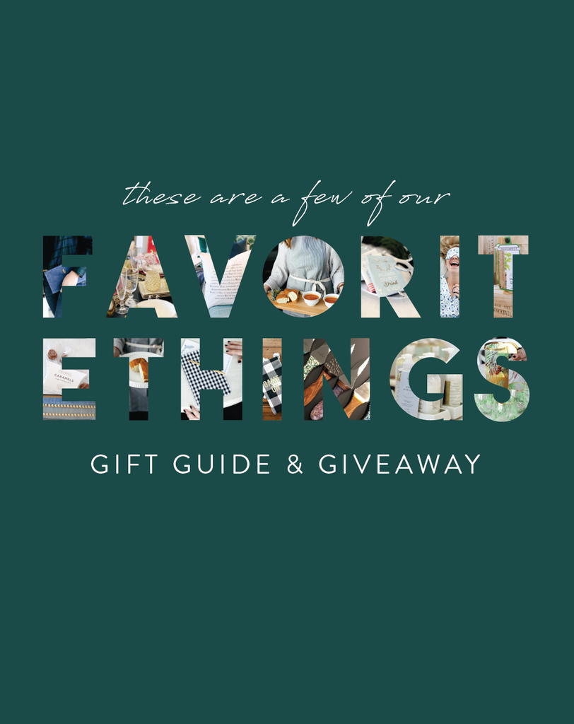 Our Favorite Things: Christmas Giveaway