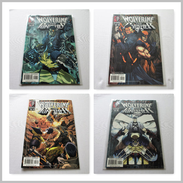 Wolverine Punisher Revelations Vol1 #1-4 Complete Set
