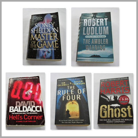 5 Thriller Mystery Novels