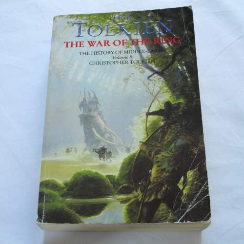 The War of the Ring by Christopher Tolkien. A paperback Fantasy book.