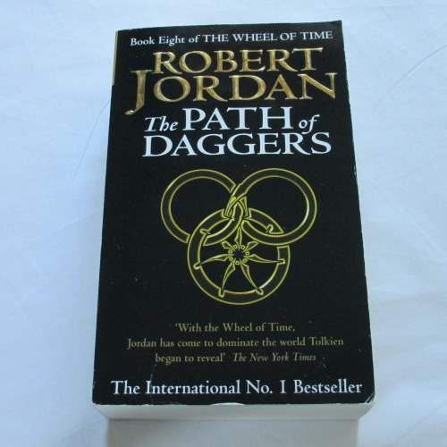 The Path of Daggers by Robert Jordan. A paperback Fantasy novel.