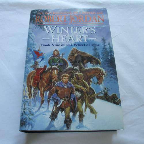 Winter's Heart by Robert Jordan. A hardback Fantasy novel.
