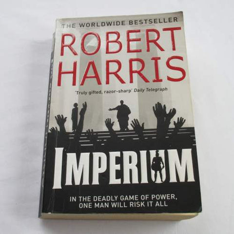 Imperium by Robert Harris. A paperback historical novel.