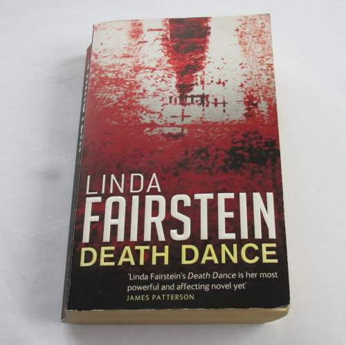 Death Dance by Linda Fairstein. A paperback crime novel.