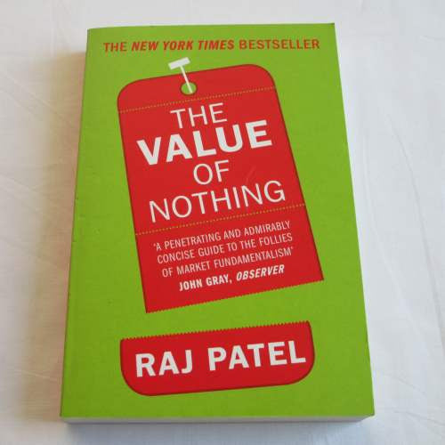 The Value of Nothing by Paj Patel