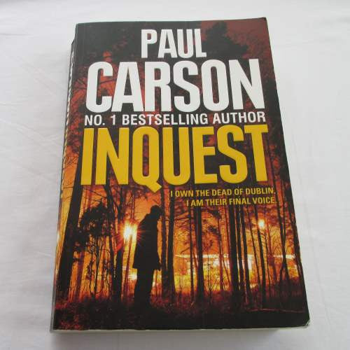 Inquest by Paul Carson. A paperback thriller & mystery novel.