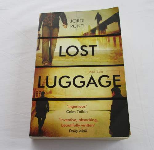 Lost Luggage by Jordi Punti. A paperback thriller & mystery novel.