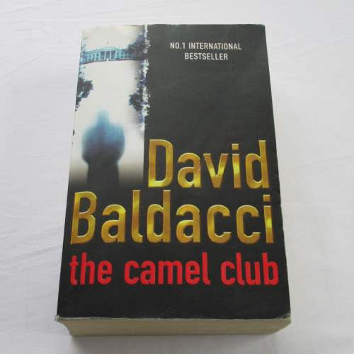 The Camel Club by David Baldacci. A paperback thriller & mystery novel.