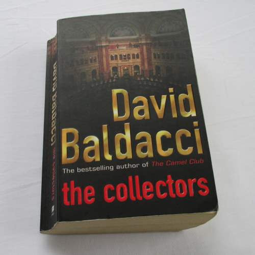 The Collectors by David Baldacci. A paperback thriller & mystery novel.