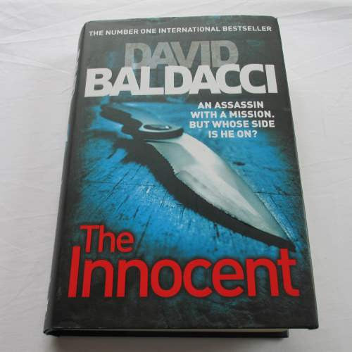 The Innocent by David Baldacci. A hardback thriller & mystery novel.