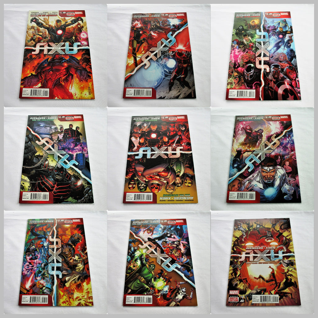Avengers & X-Men: Axis, editions 1-9