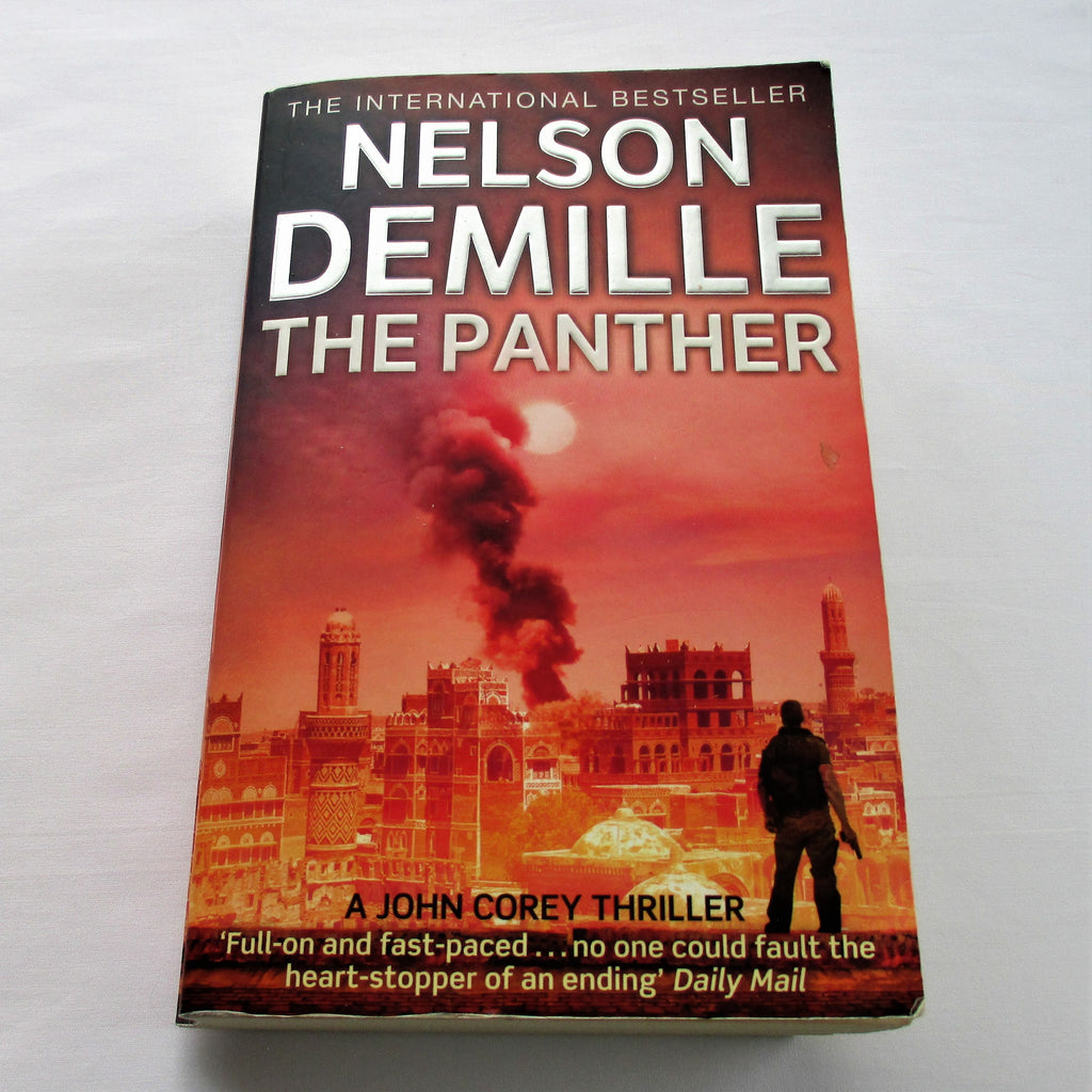 The Panther by Nelson DeMille - paperback action & adventure novel