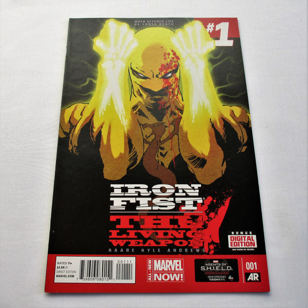 Iron Fist The Living Weapon Vol1 #1