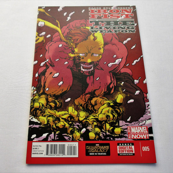 Iron Fist The Living Weapon Vol1 #5