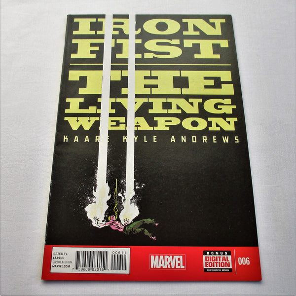 Iron Fist The Living Weapon Vol1 #6