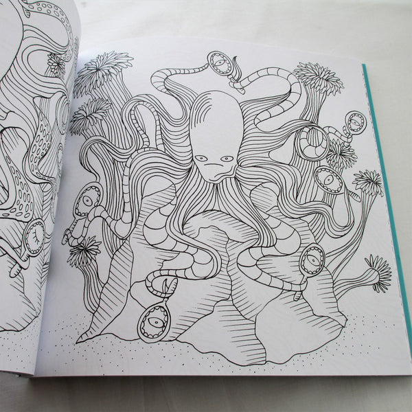 Under The Sea, a wonderful underwater world of colouring