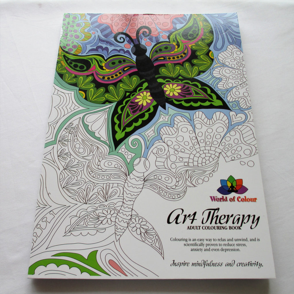 Art Therapy Adult Colouring Book