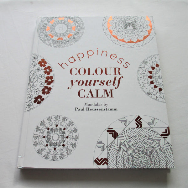 Colour Yourself Calm - Happiness