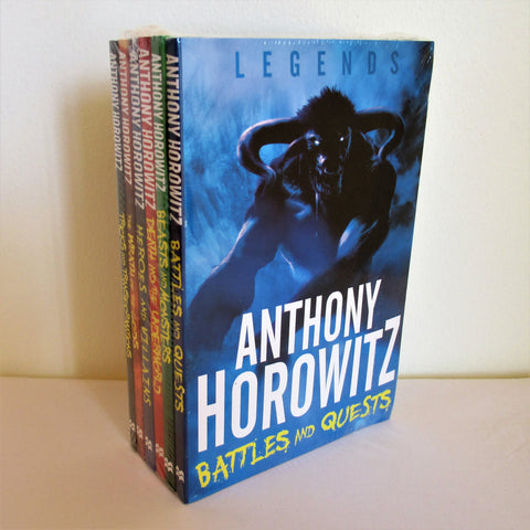 Anthony Horowitz Legends Series 6 Books Collection. A collection of six Fantasy paperback books.