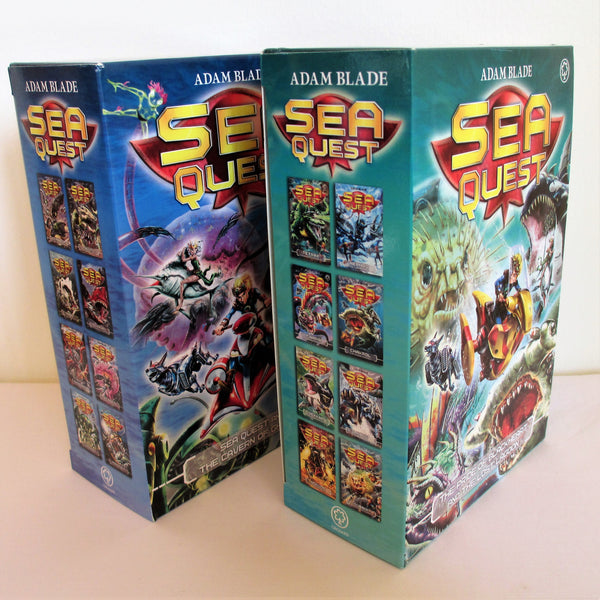 Sea Quest Series – 16 Book Set Collection by Adam Blade.