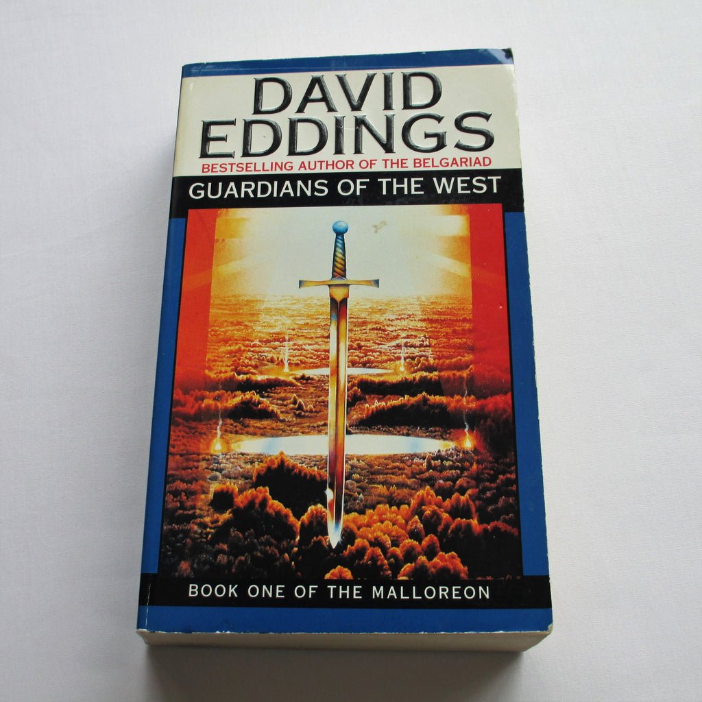 Guardians of the West by David Eddings. A paperback Fantasy novel.