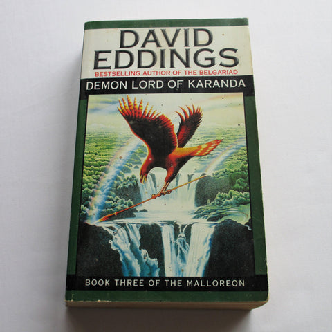 Demon Lord of Karanda by David Eddings. A paperback Fantasy novel.