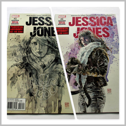 Jessica Jones #3, #4 by Marvel Comics