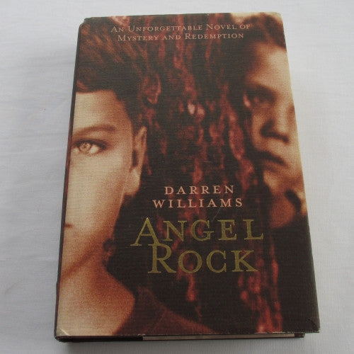 Angel Rock by Darren Williams. A hardback thriller & mystery novel