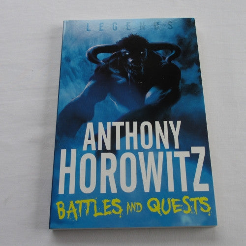 Battles And Quests a paperback fantasy novel.