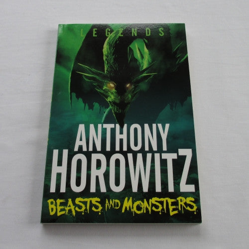 Beasts And Monsters a paperback Fantasy novel.