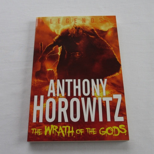 The Wrath of the Gods a paperback Fantasy novel.