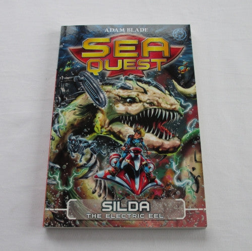 Silda - The Electric Eel by Adam Blade. A paperback Fantasy novel.