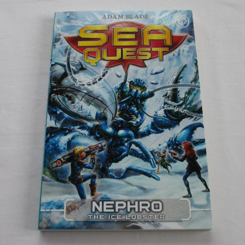 Nephro - The Ice Lobster by Adam Blade. A paperback Fantasy novel.