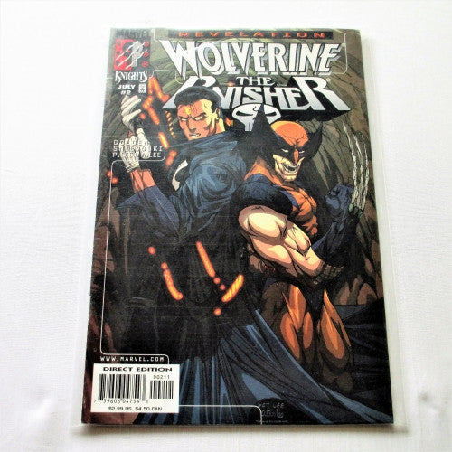 Wolverine Punisher Revelations #2