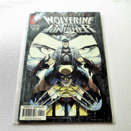 Wolverine Punisher Revelations #4