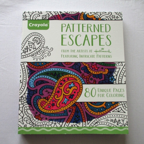 Patterned Escapes. Colouring for Grown-ups! 80 unique pages for colouring!