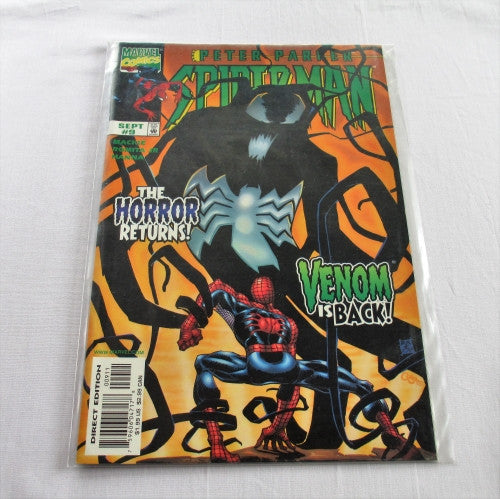 "Peter Parker Spider-man Volume 2 #9 ""Shadows of the Past"""