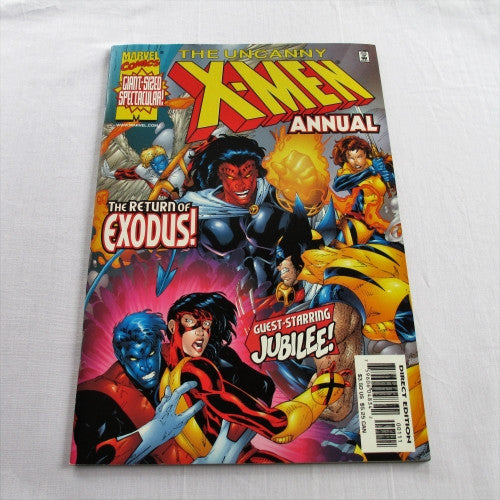 "The Uncanny X-Men Annual Volume 1999: ""Utopia Perdida"""