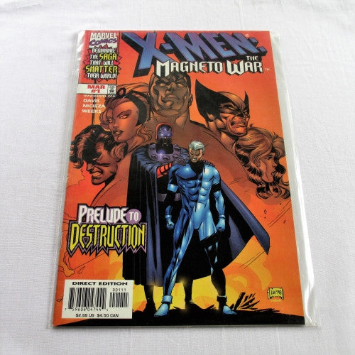 "The Uncanny X-Men ""The Magneto War Vol1 #1"