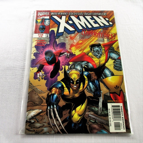"X-Men Liberators #4 ""Gifted Youngsters"""