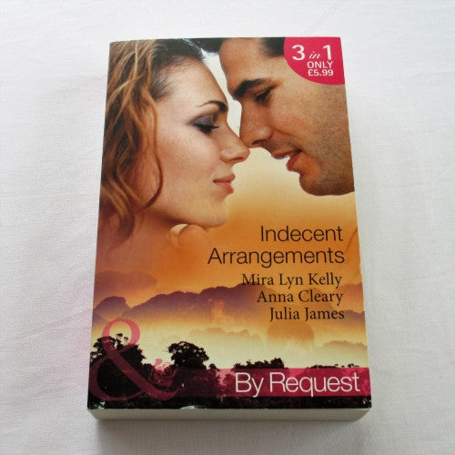 Three Mills & Boon romance novels in one paperback book.