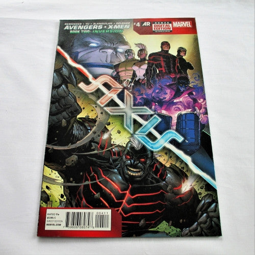 "Avengers & X-Men: Axis #4 ""Inversion: Chapter 1 - Altered Beast"""