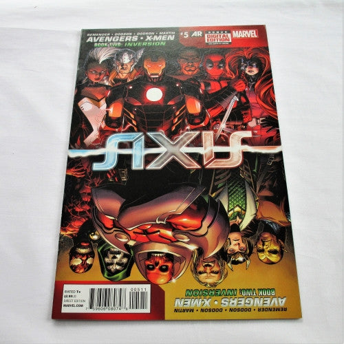"Avengers & X-Men: Axis #5 ""Inversion: Chapter 2 - Something Clearly Went Wrong"""