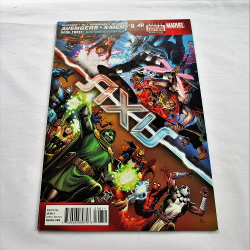 "Avengers & X-Men: Axis #8 ""New World Disorder: Chapter 2 - Why They Sting"""