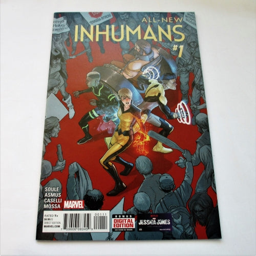 All-New Inhumans Vol1 #1