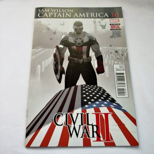 Sam Wilson Captain America #10